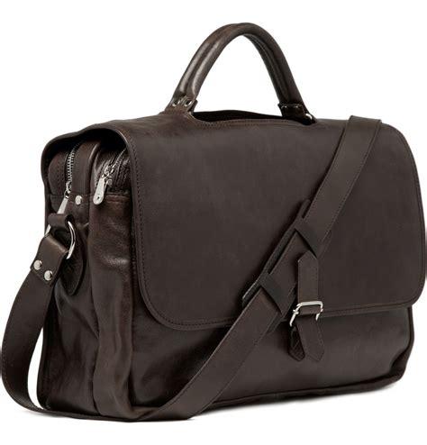 leather satchel mens maison martin margiela leather satchel messenger bag s bags