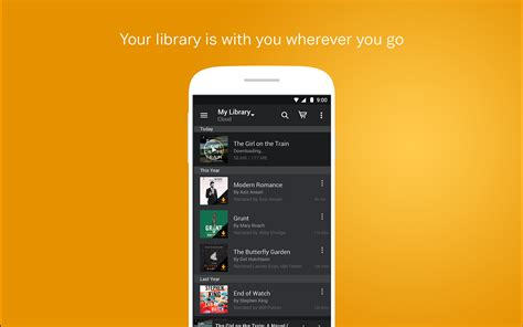 free audible books for android audible for android au appstore for android