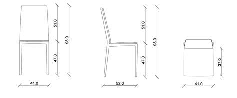 misura sedia sedia riflessi sveva