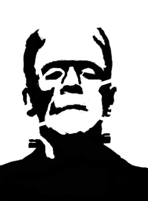 printable pumpkin stencils frankenstein 161 best images about stencil on pinterest halloween