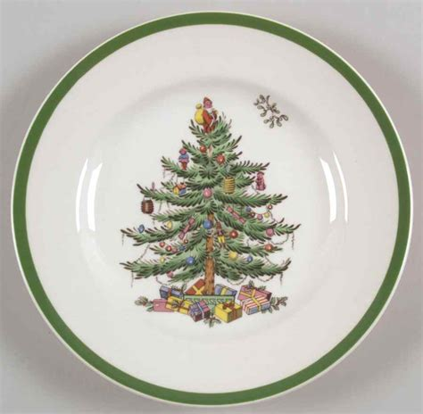 spode christmas tree bread butter plate s677197g3