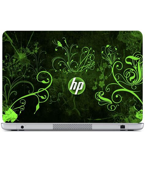 wallpaper for laptop skin finearts textured laptop skin hp green wallpaper printed