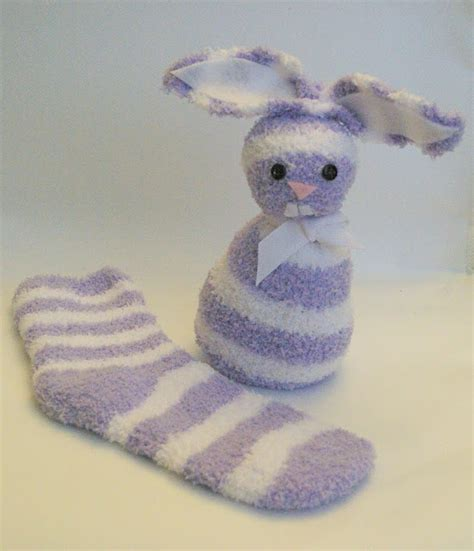 no sew sock bunny create