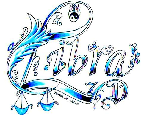 design art signs libra tattoo design by denise a wells september 23