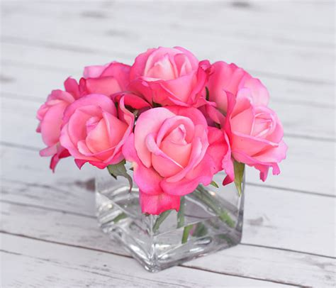 the midas touch for home decor hot pink wellingtons natural touch hot pink fuchsia arrangement centerpiece silk