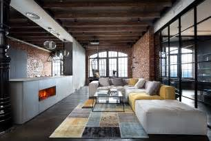 Loft by High End Bachelor Pad Design Stunning Loft In Kiev By