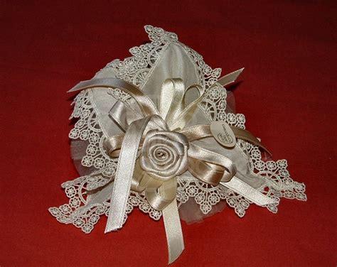 fiori di stoffa per bomboniere centrino quadrato 20x20 cm fiore stoffa centro della