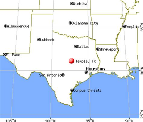 temple texas map image gallery temple tx