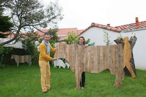 Vache Decorative by Vache Deco Jardin Decoration En Fer Forg 233 Pour Jardin
