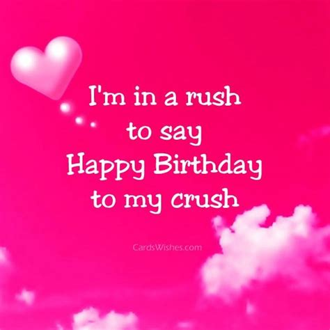 Happy Birthday Wishes For My Crush Birthday Wishes For A Girl Crush Cards Wishes