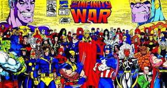 Infinity War Comic The Infinity War Part 3 1992 The Almost Complete