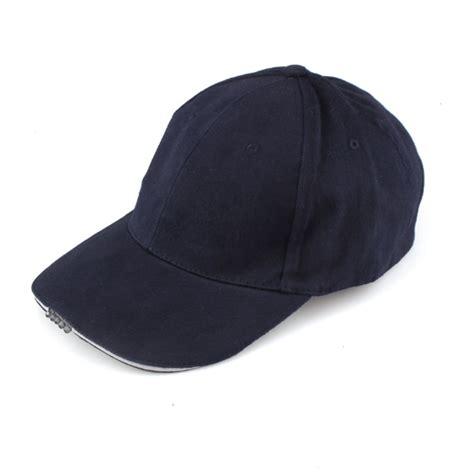 baseball cap with led lights baseball hat with 5 led lights