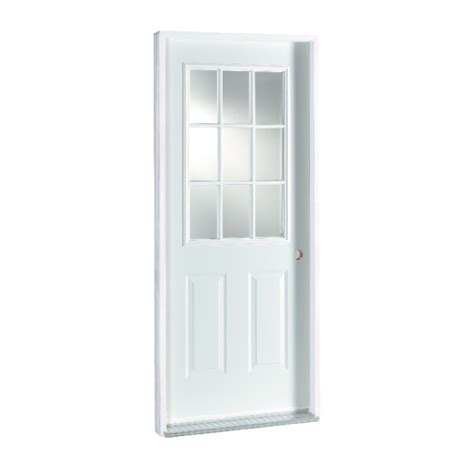 9 Lite Door by 9 Lite Steel Door Rona