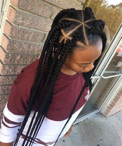 help parting hair for cornrows natural hairstyles braids triangle parts natural hair