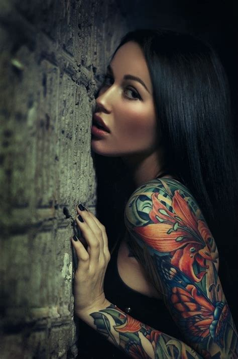 Violette Petty Also Search For Butterfly Flower Sleeve Tattoos