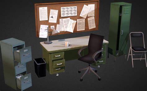 re furniture design designworkshop 3d forum office interior props 3d model game ready max obj 3ds