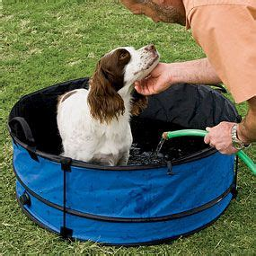 outdoor dog bathroom outdoor portable collapsible dog bathtub leave the