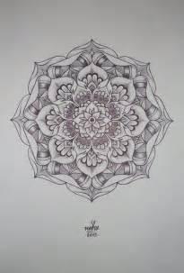 Lotus Flower Mandala Flower Mandala By Shitshyle D5s5kdh Jpg 735 215 1 086 Pixels