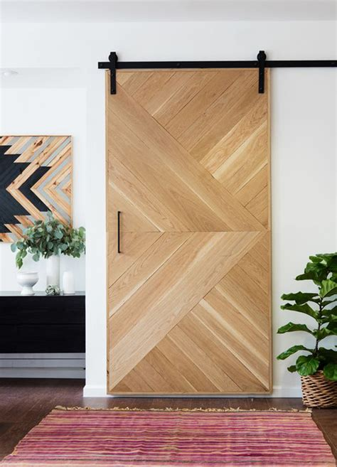 20 Awesome Sliding Doors With Rustic Accent Home Design Barn Door Design