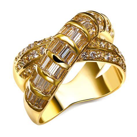 Golden Ring New Design by Aliexpress Buy Gold Cross Ring 2016 New Design