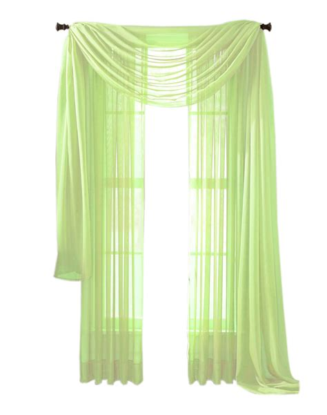 lime green sheer curtains lime green sheer panel