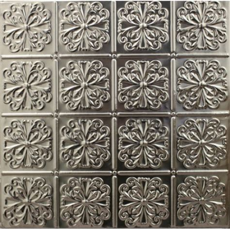 Metal Ceiling Tiles by 127 Tin Metal Ceiling Tile Parisian Floral