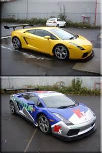 Lamborghini Gallardo Wrap Tms Lamborghini Gallardo Wrap Vinyl Creations