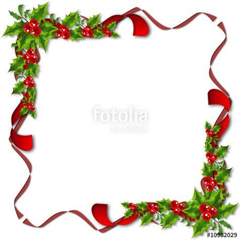 cornici natalizie gratis quot cornice di vischio set 2 quot immagini e fotografie royalty