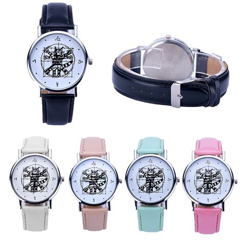 fashion womens watches leather casual analog quartz dress