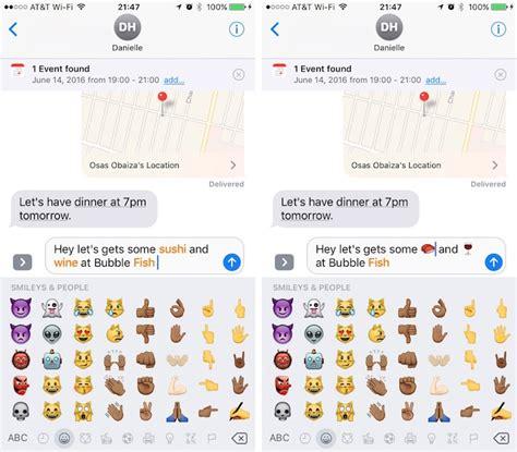 emoji baru iphone top 44 ios 10 fitur untuk iphone insightmac