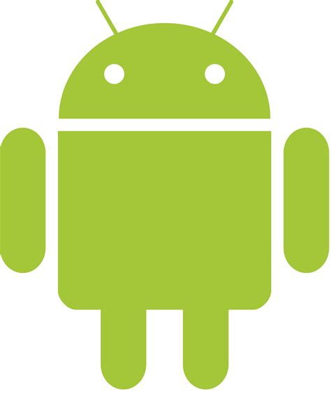 android it file android robot png wikimedia commons