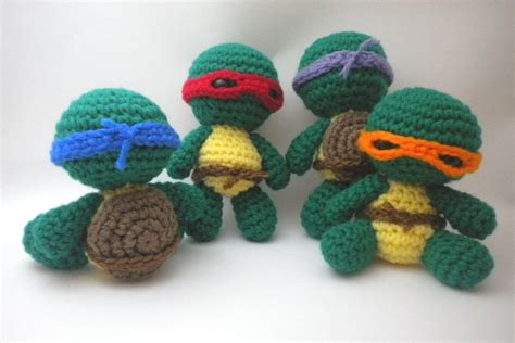 amigurumi tmnt pattern 34 best images about tmnt on pinterest teenage turtles