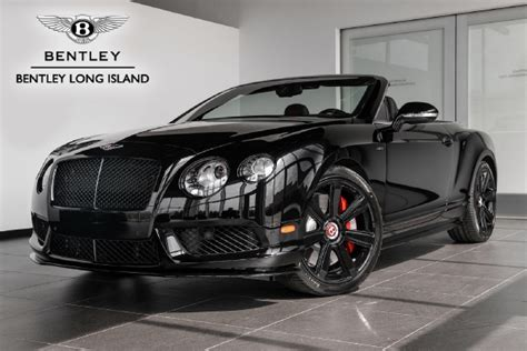 black bentley back 2015 bentley continental gt v8 s convertible concours