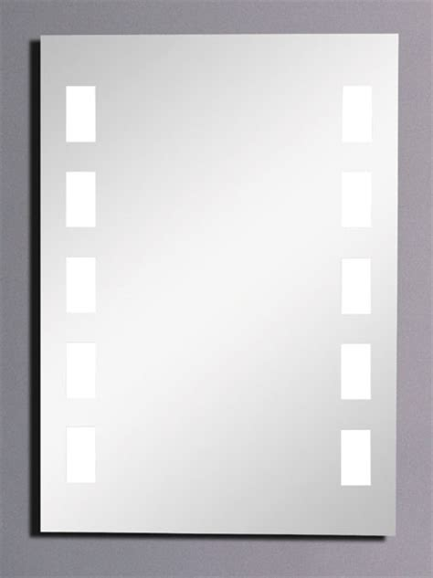 Bathroom Mirror Sizes Innisfree Backlit Illuminated Bathroom Mirror Size 500x700mm Hudson Reed L Innisfree Truerooms