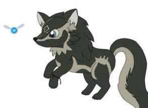 link wolf chibi by goldfishpope on deviantart