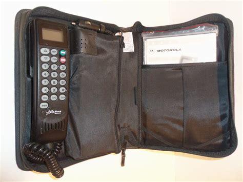 vintage motorola cell star car mobile brick bag phone