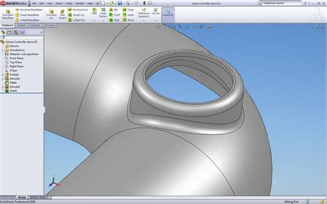 solidworks tutorial extrude solidworks tutorial extruding to curved surface and
