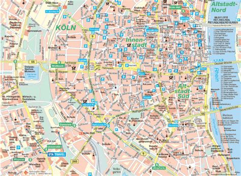 map of koln germany maps of cologne