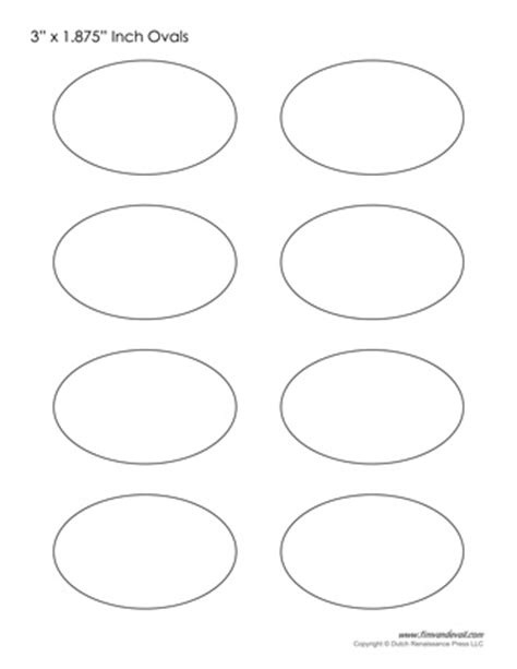 shape template oval templates blank shape templates free printable pdf