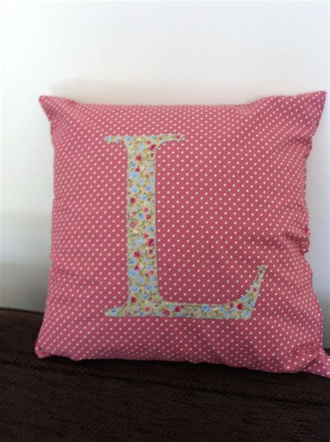Cushion Handmade - handmade with initial textiles inspiration