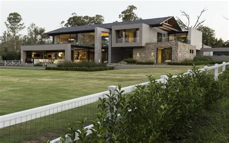 House In Blair Atholl Johannesburg E Architect Luxury House Plans Designs South Africa