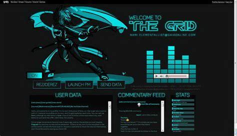 cool gaia profile layout ideas hative