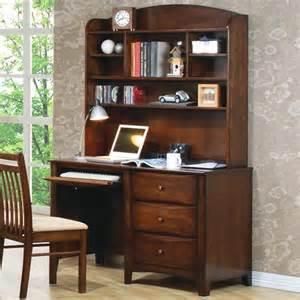 Youth Desk With Hutch Coaster And Scottsdale Single Pedestal Youth Computer Desk With Hutch
