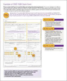 cms 1500 template sle completed 1500 claim form pictures to pin on