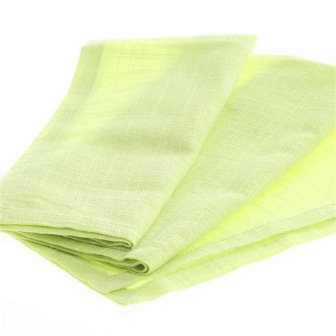key lime green key lime green cafe cloth napkin textiles and linens