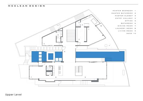 Floor Layout Plans blue jay way residence by mcclean design