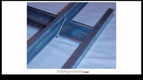 mf or metal furring plasterboard ceiling system