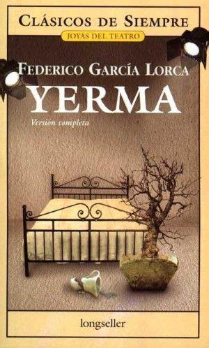 tapa del libro yerma federico garcia lorca 2016 goals literature and writer