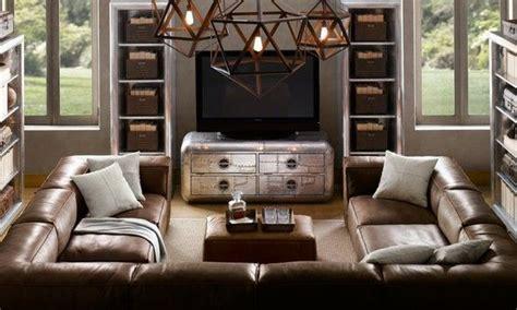 u shaped sectional sofa restoration hardware u shaped sectionals large u shaped leather sectional