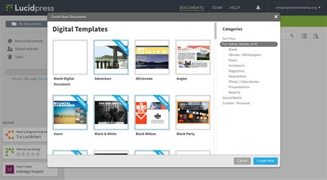 lucidpress templates lucidpress educator review common sense education